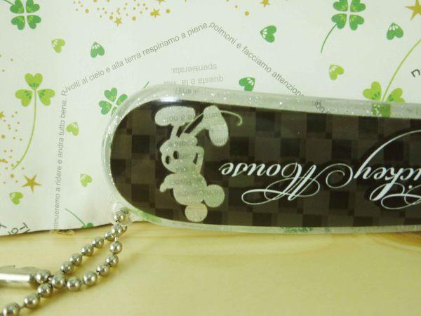 【震撼精品百貨】Micky Mouse_米奇/米妮 ~對折梳-黑亮粉