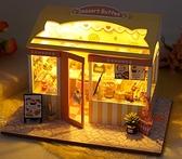 diy小屋 diy小屋花房手工制作迷你小房子模型拼裝玩具創意生日禮物女生【快速出貨八折下殺】