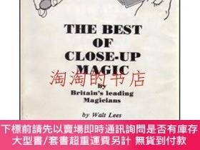 二手書博民逛書店THE罕見BEST OF CLOSE-UP MAGIC by Britain's leading Mag