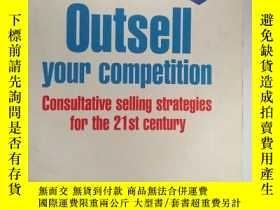 二手書博民逛書店罕見外文書 Outsell Your Competition: