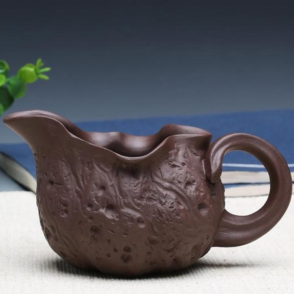 [超豐國際]宜興茶具紫砂公杯 茶杯紫砂杯手工喝水杯 供春公道杯1入