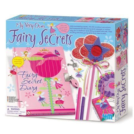 《4M美勞創作》My Very Own Fairy Secret 花精靈的秘密花園 ╭★ JOYBUS玩具百貨