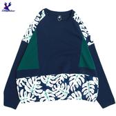 【三折特賣】American Bluedeer - 樹葉剪接上衣 秋冬新款