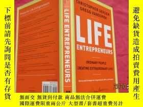 全新書博民逛書店LifeEntrepreneurs: Ordinary People Creating Extraordinary