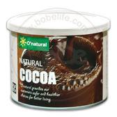 純天然沖泡式可可粉 (每罐150公克) – O'natural 歐納丘