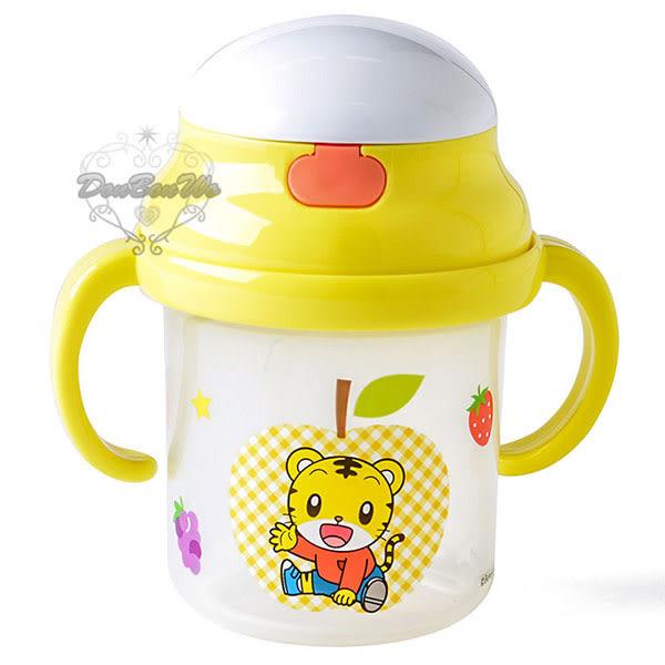 巧虎幼兒學習杯彈蓋式吸管水壺雙握把344497通販屋