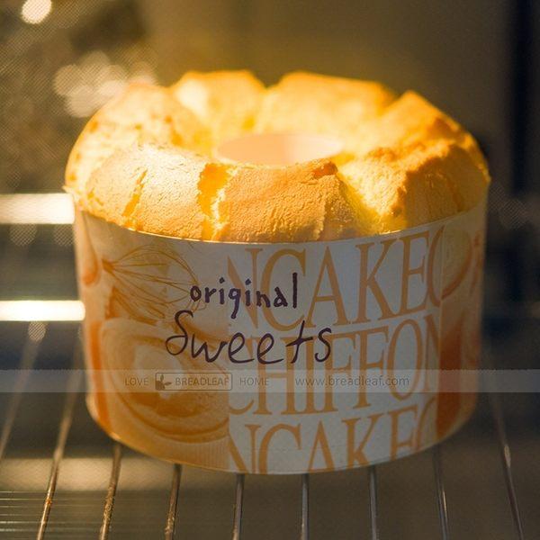 5入 送透明蓋+封口貼 4吋 5吋 6吋戚風中空蛋糕紙模 火鍋紙杯 煙囪蛋糕模雪紡蛋糕紙杯烘烤紙杯C072