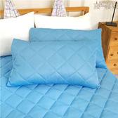 保潔枕套 - 2入 [信封式 花蓮涼感玉 可機洗] 柔軟舒適 寢居樂 台灣製