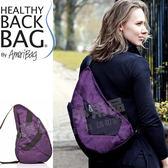 Healthy Back Bag 83204_PR紫色 丹寧牛仔寶背包-中型斜背包