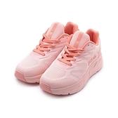 FILA 厚底休閒跑鞋 粉橘 5-J335V-555 女鞋
