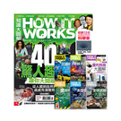《How It Works知識大圖解》1年12期 贈 How It Works知識大圖解系列套書(6書)