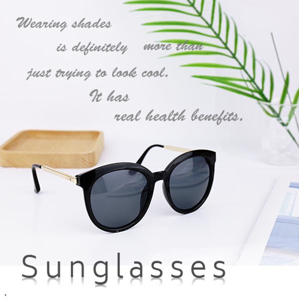 復古金邊 太陽眼鏡【櫻桃飾品】【30020】