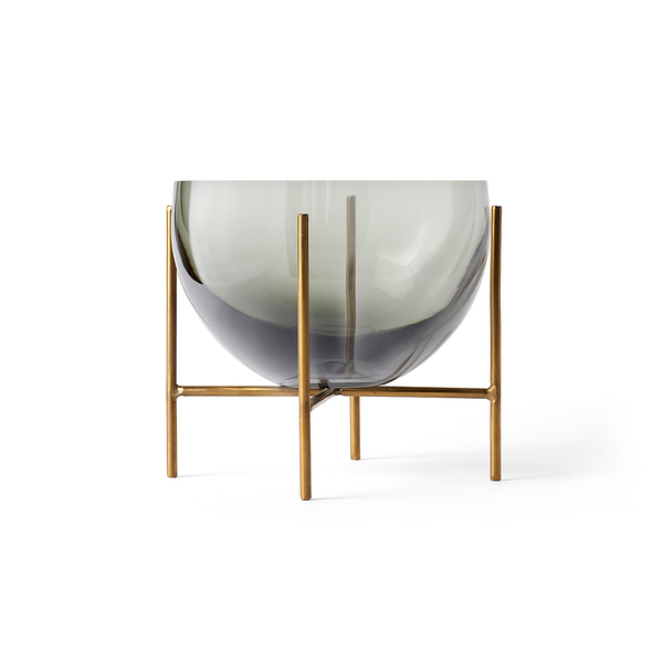 丹麥 Menu Echasse Bowl 13cm 伊雀思 水滴造型 煙燻玻璃 點心皿 / 置物碗 - 小尺寸