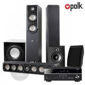 PolkAudio 5.1聲道家庭劇院組 (S50+S35+OWM3 + YAMAHA RX-V485 5.1聲道擴大機 + FIN S2重低音)