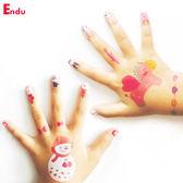 兒童紋身貼指甲鉗紙貼畫寶寶黏貼紙女孩防水粉色公主生日禮物【快速出貨超夯八五折】