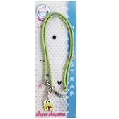 小禮堂 大眼蛙 日本製 尼龍口罩掛繩 (綠色款) 4580577-52012