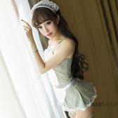 情趣內衣女僕裝透視蕾絲性感夜店大尺碼女傭演出服小胸制服激情套裝 七夕禮物