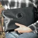 法國COW男士手包男款真皮質感大容量手拿包錢包商務多功能手抓包 快速出貨