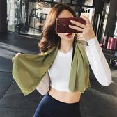 吸汗巾-冷感運動毛巾速乾擦汗冰巾吸汗成人健身跑步汗巾冰毛巾 艾莎嚴選