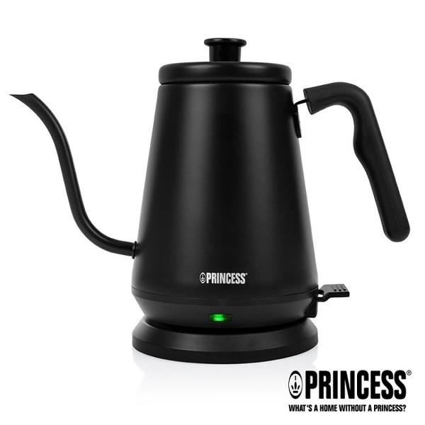 【歐風家電館】PRINCESS 荷蘭公主0.8L 手沖咖啡 細口壺 / 快煮壺 236036 (消光黑/新品上市)