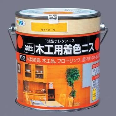 日本木器著色清漆淺橡木0.7L