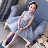 女童連身裙旗袍裙蓬蓬紗裙
