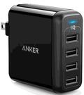 [2美國直購] Anker 40W 4 埠 USB 壁充,附折疊插頭