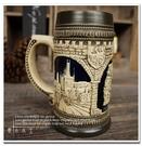 【德國代購:布拉格市政廳】陶瓷德國啤酒杯