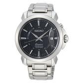 SEIKO Premier  廣告新款羅馬萬年曆  免調日期 時尚腕錶6A32-00Z0D(SNQ159J1)