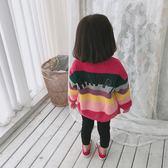 聖誕節 女寶寶韓版外套2018新款外搭兒童開襟春秋熊猫本