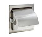 【 麗室衛浴】 國產 台灣製 G-398   不鏽鋼捲筒衛生紙架 嵌入式 #304