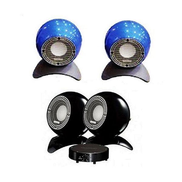 新竹竹北音響店推薦《名展影音》  MISSION m-isphere mini 圓型小型喇叭/對 藍色款