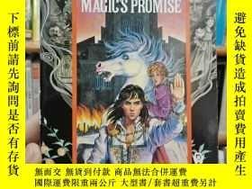 二手書博民逛書店英文原版罕見MAGIC S PROMISEY312404
