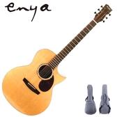 ENYA嚴選EA-Q1特級雲杉單板吉他-41吋AJ筒/印度玫瑰木側板/附贈千元好禮