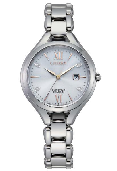 【分期0利率】星辰錶 CITIZEN 鈦金屬 光動能 藍寶石水晶鏡面 30mm 原廠公司貨 EW2560-86A