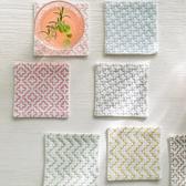 【日本人氣商品】刺子繡杯墊圖案組(3種款式)