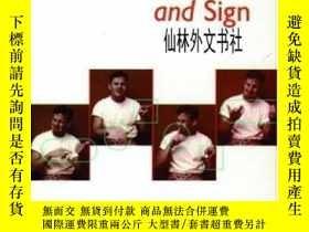 二手書博民逛書店【罕見】1999年出版 Gesture, Speech, And SignY27248 Lynn S. Mes