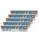 【限時促銷 五支組】PRINTEC FUTEK F3000 原廠色帶 盒裝 適用F3000