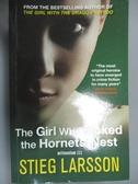 【書寶二手書T6/原文小說_JQT】The Girl Who Kicked the Hornet's Nest_Stieg Larsson