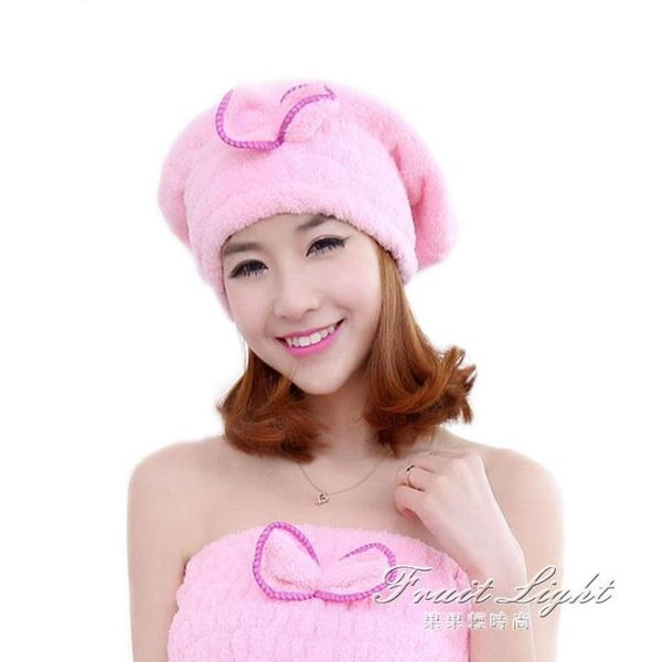 成人女長髮加厚淋浴兒童吸水洗澡洗頭 干髮帽包頭巾