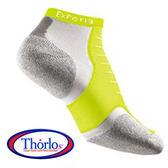 Thorlos XCCU EXPERIA 雪豹 超短筒運動襪 螢光黃 XCCU223