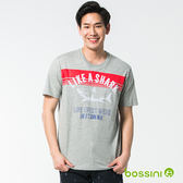 bossini男裝-圓領短袖T恤19淺灰
