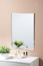 *集樂雅*【MR4065】無框斜邊壁貼鏡 黏貼鏡 (附泡棉雙面膠)