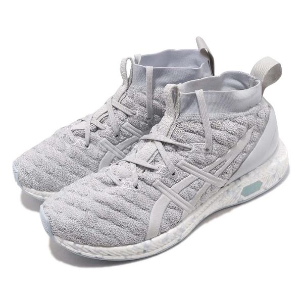 【五折特賣】Asics 休閒鞋 Hyper Gel-Kan 灰 藍 編織鞋面 女鞋 襪套式【ACS】 1022A032020