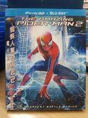 挖寶二手片-Q00-482-正版BD【蜘蛛人驚奇再起2 電光之戰 2D+3D 有外紙盒】-藍光電影