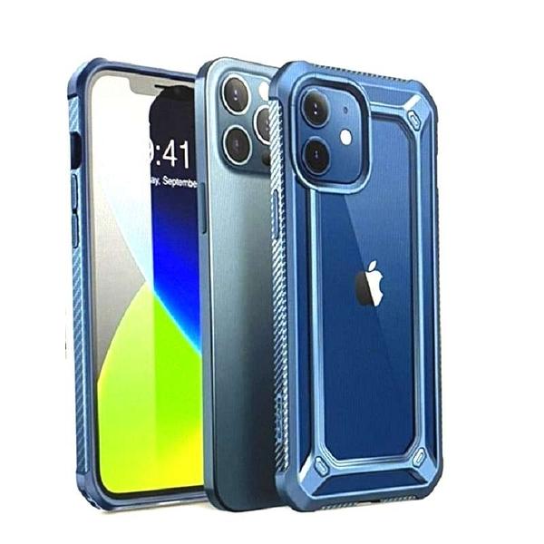 [9美國直購] SUPCASE Unicorn Beetle EXO 系列保護殼 for iPhone 12 Pro Max(6.7吋) 藍/黑/紫 三色