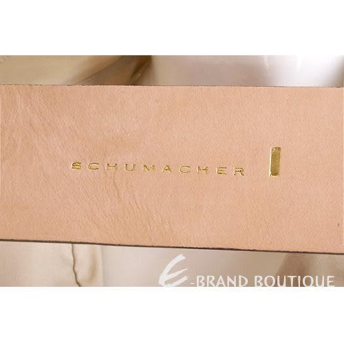 SCHUMACHER 灰耦色蝴蝶結寬版腰帶 1010483-C5