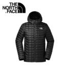 【The North Face 美國 男款 ThermoBall 保暖兜帽外套《黑》】3666/暖魔球/輕便打包/可套接