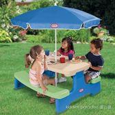 【美國 Little Tikes】便利野餐桌 便利 野餐桌←摺疊桌 折疊椅 露營燈 飯店 桌 椅 農場 診所 親子
