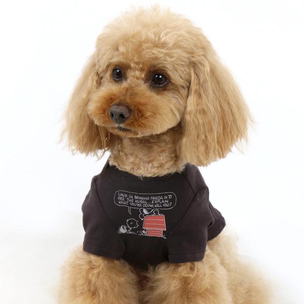 【PET PARADISE 寵物精品】SNOOPY 史奴比紅色小屋上衣/黑 (SS/DS) 狗衣服 寵物衣服